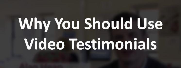 video testimonial title