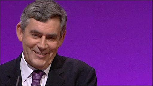 Gordon Brown Smiles