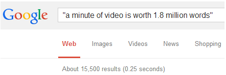 1.8 million words google