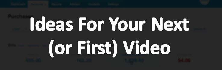 ideas for yourvideo